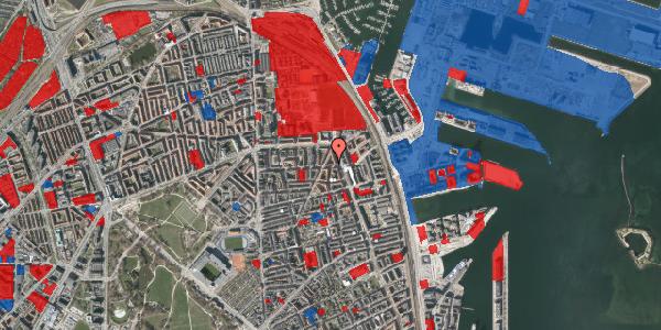 Jordforureningskort på Vordingborggade 37, 3. th, 2100 København Ø