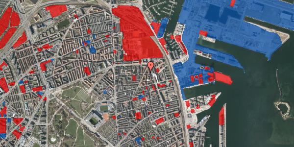 Jordforureningskort på Vordingborggade 37, 5. , 2100 København Ø