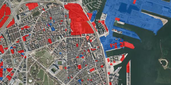 Jordforureningskort på Vordingborggade 39, st. tv, 2100 København Ø