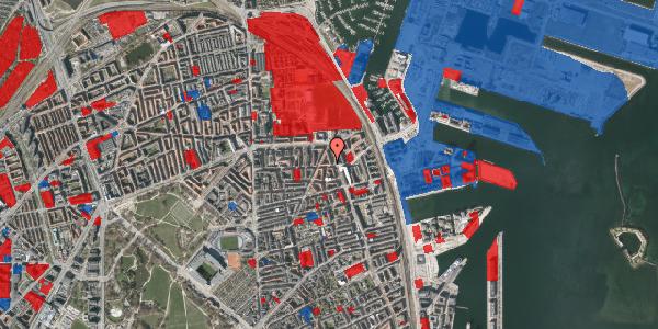 Jordforureningskort på Vordingborggade 39, 4. th, 2100 København Ø