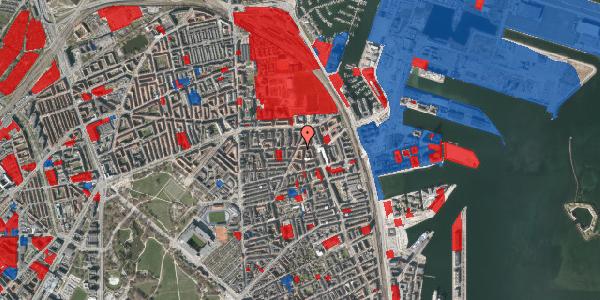 Jordforureningskort på Vordingborggade 74, 3. th, 2100 København Ø