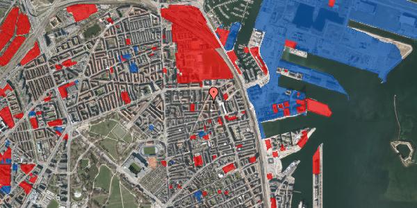 Jordforureningskort på Vordingborggade 76, 4. th, 2100 København Ø