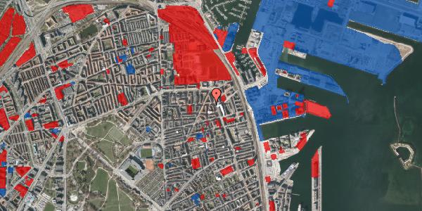 Jordforureningskort på Vordingborggade 78, 3. th, 2100 København Ø