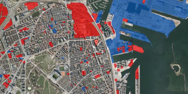 Jordforureningskort på Vordingborggade 80, 1. th, 2100 København Ø