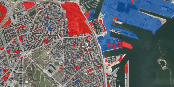 Jordforureningskort på Vordingborggade 82, 2. th, 2100 København Ø
