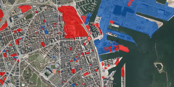 Jordforureningskort på Vordingborggade 89, 4. th, 2100 København Ø