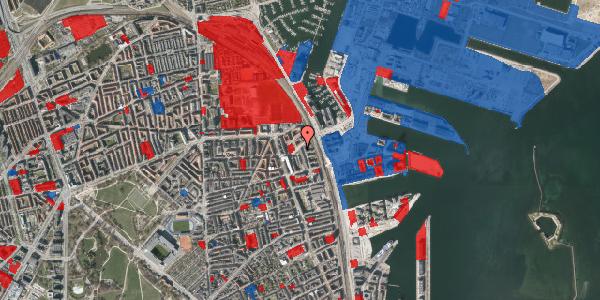 Jordforureningskort på Vordingborggade 90, 1. th, 2100 København Ø