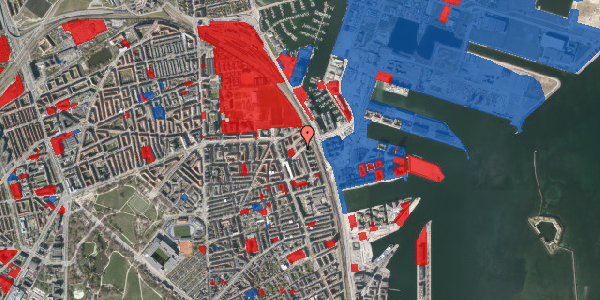 Jordforureningskort på Vordingborggade 91, 3. tv, 2100 København Ø