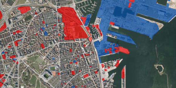 Jordforureningskort på Vordingborggade 95, 2. th, 2100 København Ø