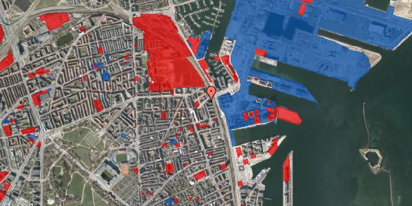 Jordforureningskort på Vordingborggade 98, 3. th, 2100 København Ø
