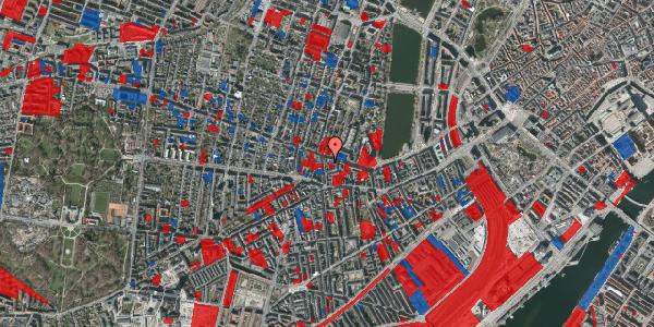 Jordforureningskort på Værnedamsvej 14A, 4. tv, 1619 København V