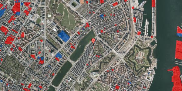 Jordforureningskort på Zinnsgade 6, 3. tv, 2100 København Ø