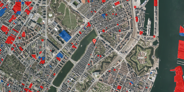 Jordforureningskort på Zinnsgade 7, 4. tv, 2100 København Ø