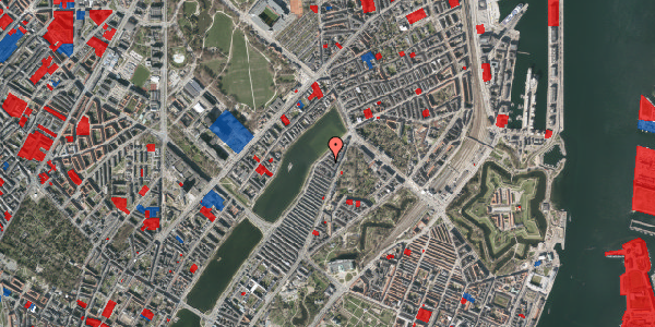 Jordforureningskort på Zinnsgade 8, st. tv, 2100 København Ø