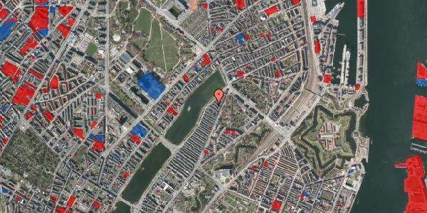 Jordforureningskort på Zinnsgade 8, 3. th, 2100 København Ø