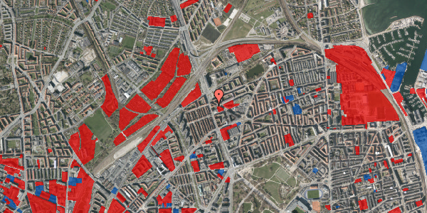 Jordforureningskort på Æbeløgade 23, 2. tv, 2100 København Ø