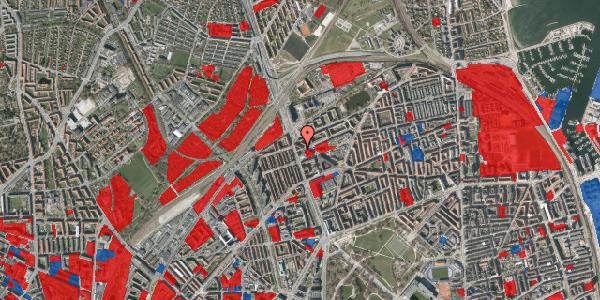 Jordforureningskort på Æbeløgade 23, 4. tv, 2100 København Ø