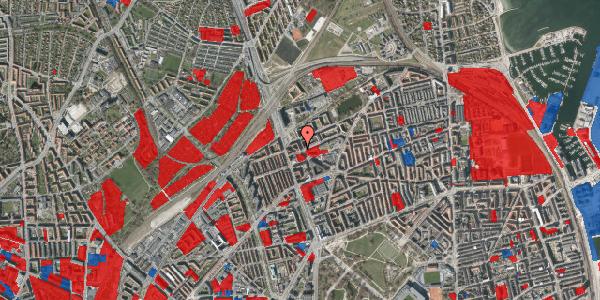 Jordforureningskort på Æbeløgade 24, 1. tv, 2100 København Ø