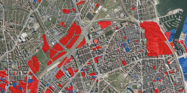 Jordforureningskort på Æbeløgade 26, 1. tv, 2100 København Ø