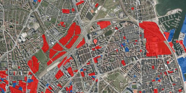 Jordforureningskort på Æbeløgade 26, 4. th, 2100 København Ø