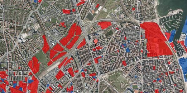 Jordforureningskort på Æbeløgade 28, 3. tv, 2100 København Ø