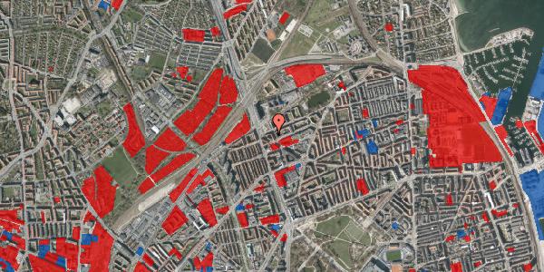 Jordforureningskort på Æbeløgade 30, 1. tv, 2100 København Ø