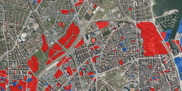 Jordforureningskort på Æbeløgade 30, 3. tv, 2100 København Ø