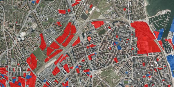 Jordforureningskort på Æbeløgade 32, 2. th, 2100 København Ø