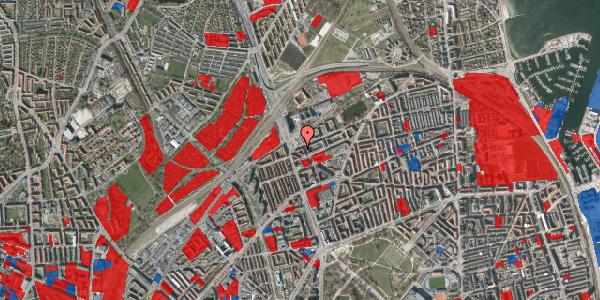 Jordforureningskort på Æbeløgade 36, 1. th, 2100 København Ø