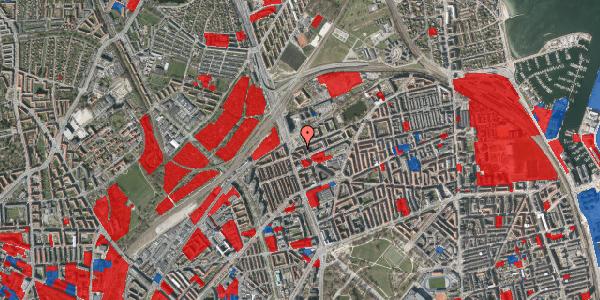 Jordforureningskort på Æbeløgade 36, 3. th, 2100 København Ø