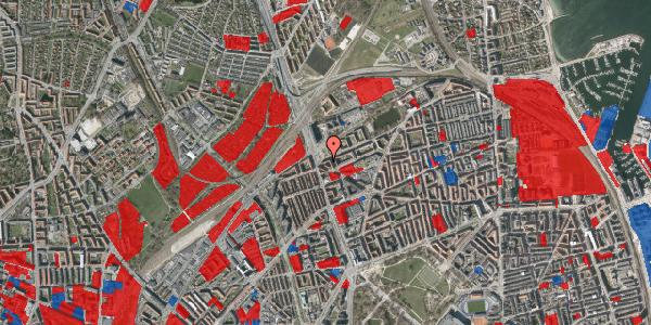 Jordforureningskort på Æbeløgade 38, 3. th, 2100 København Ø