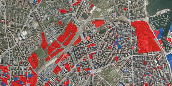 Jordforureningskort på Æbeløgade 40, 1. tv, 2100 København Ø