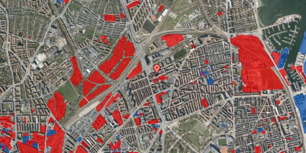 Jordforureningskort på Æbeløgade 44, 3. 3, 2100 København Ø