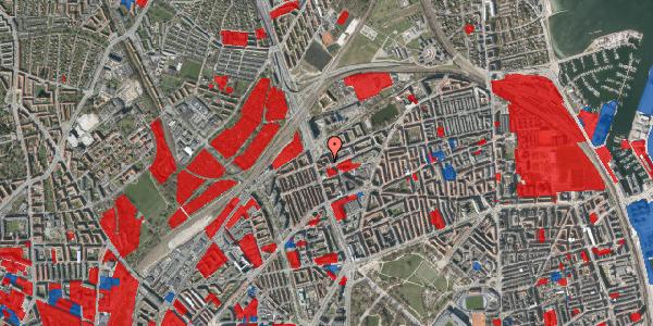 Jordforureningskort på Æbeløgade 44, 4. 1, 2100 København Ø