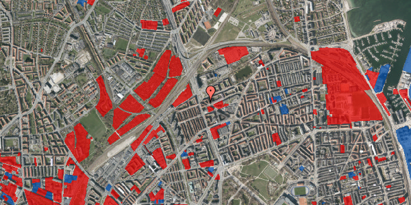 Jordforureningskort på Æbeløgade 46, 4. 4, 2100 København Ø