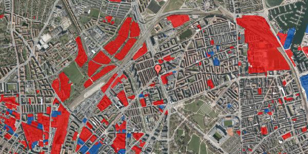 Jordforureningskort på H.P. Ørums Gade 1, 1. , 2100 København Ø