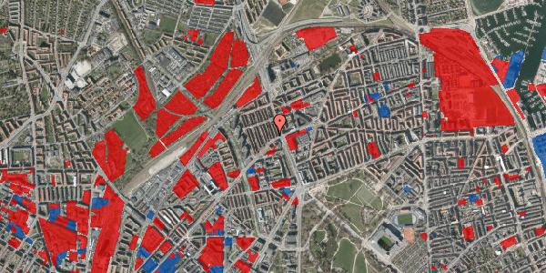 Jordforureningskort på H.P. Ørums Gade 3, 2. , 2100 København Ø