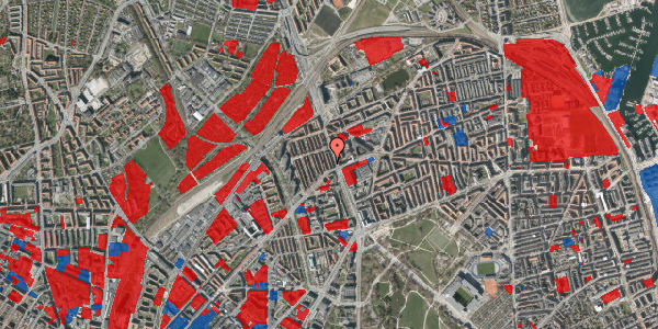 Jordforureningskort på H.P. Ørums Gade 8, 3. , 2100 København Ø