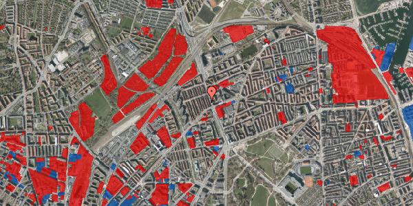 Jordforureningskort på H.P. Ørums Gade 14, 2100 København Ø