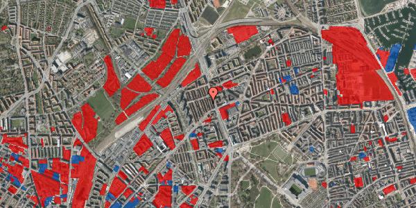 Jordforureningskort på H.P. Ørums Gade 17, 3. , 2100 København Ø