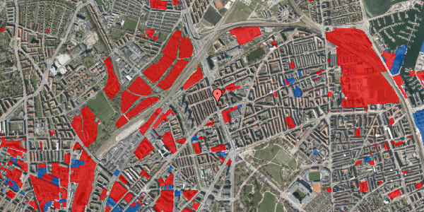 Jordforureningskort på H.P. Ørums Gade 18, 2100 København Ø