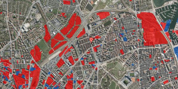 Jordforureningskort på H.P. Ørums Gade 22, 2100 København Ø