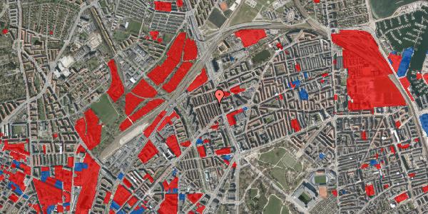 Jordforureningskort på H.P. Ørums Gade 25, 2. , 2100 København Ø