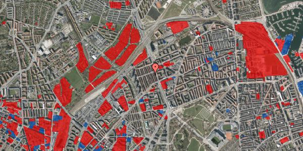 Jordforureningskort på H.P. Ørums Gade 27, 2. , 2100 København Ø