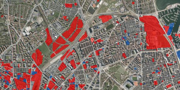 Jordforureningskort på H.P. Ørums Gade 30, kl. 1, 2100 København Ø
