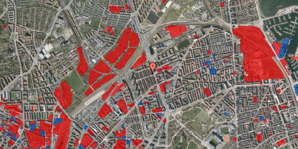 Jordforureningskort på H.P. Ørums Gade 33, 2100 København Ø