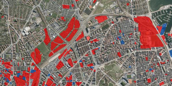Jordforureningskort på H.P. Ørums Gade 38, 2100 København Ø