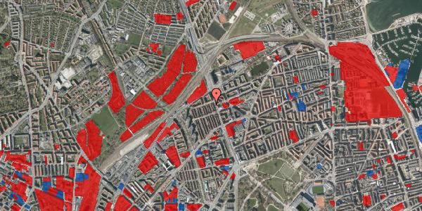 Jordforureningskort på H.P. Ørums Gade 46, 2100 København Ø