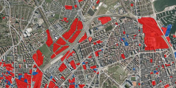 Jordforureningskort på H.P. Ørums Gade 47, 1. , 2100 København Ø