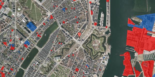 Jordforureningskort på Østbanegade 3, 1. th, 2100 København Ø